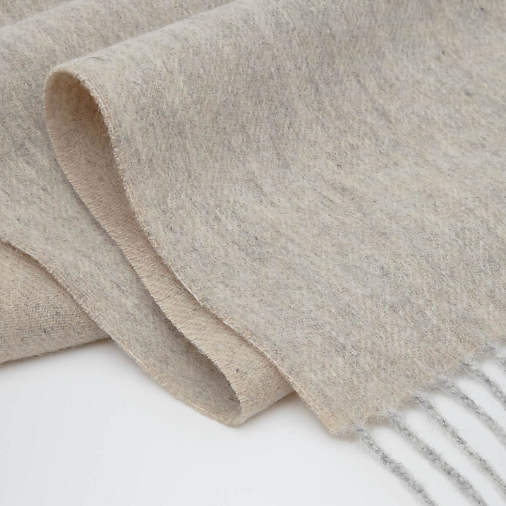 'Kingston' cashmere blend scarf - Reiss - £70