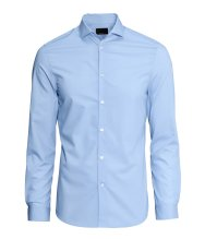 Shirt in premium cotton - H&M - £14.99