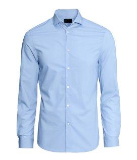 Shirt in premium cotton - H&M - £14.99