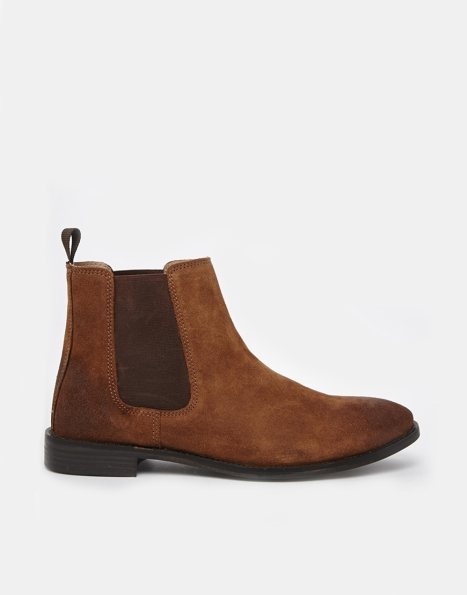 Chelsea Boot in suede - ASOS - £45