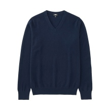 Stretch cashmere V neck jumper - Uniqlo - £99.90
