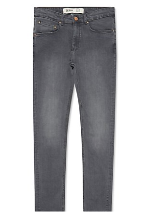 Grey faded skinny jeans - New Look - £19.99