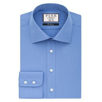 Frederick Plain Slim Fit Shirt - £89