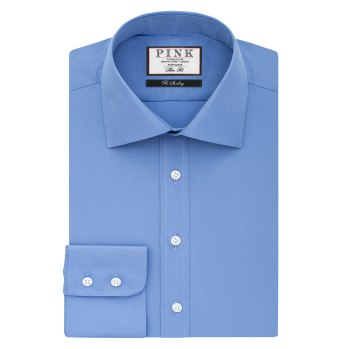 Frederick Plain Slim Fit Shirt - £89