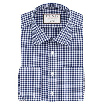 Summers Slim Fit Double Cuff Shirt - £89